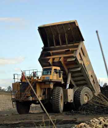 Big dumper in site